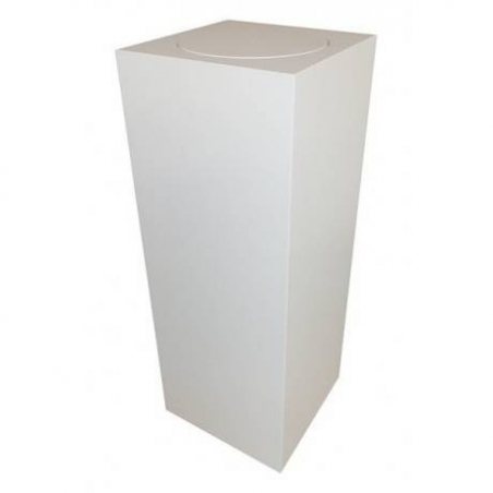 Sockel mit Drehplatte, 50 x 50 x 100 cm (LxBxH)