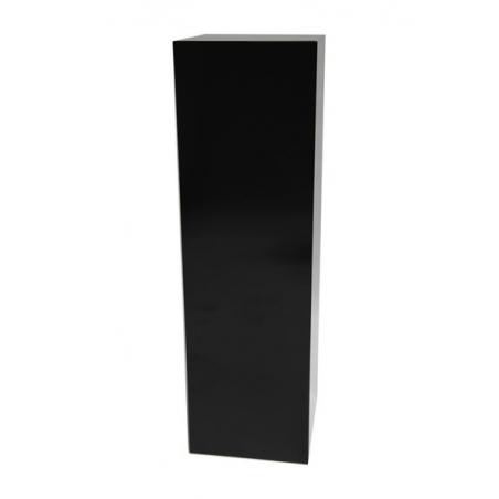 Galeriesockel schwarz Glanz, 60 x 60 x 100 cm (LxBxH)
