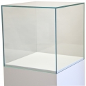 Skyddsmonter av glas 45 x 45 x 45 cm