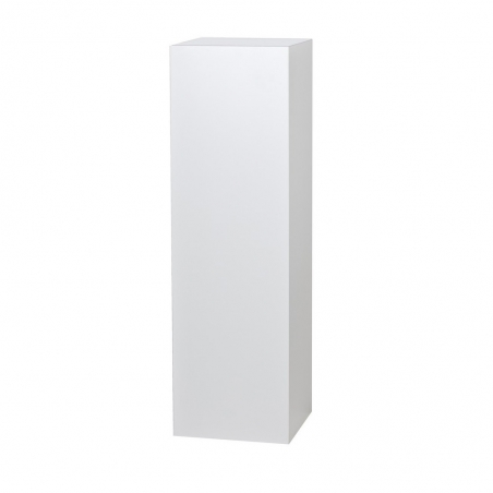 Solits podium vit högglans 30 x 30 x 100 cm