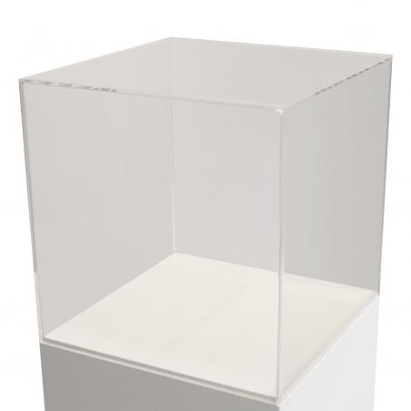 Skyddsmonter av plexiglas 25 x 25 x 25 cm
