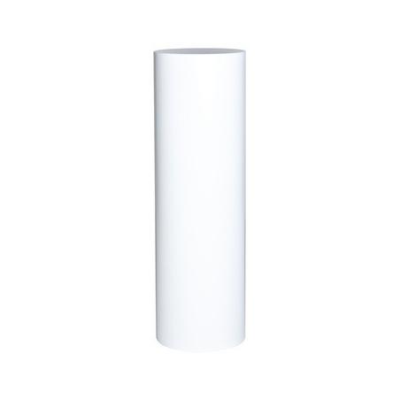 Runt podium vit, Ø 50 cm x 100 cm (h)