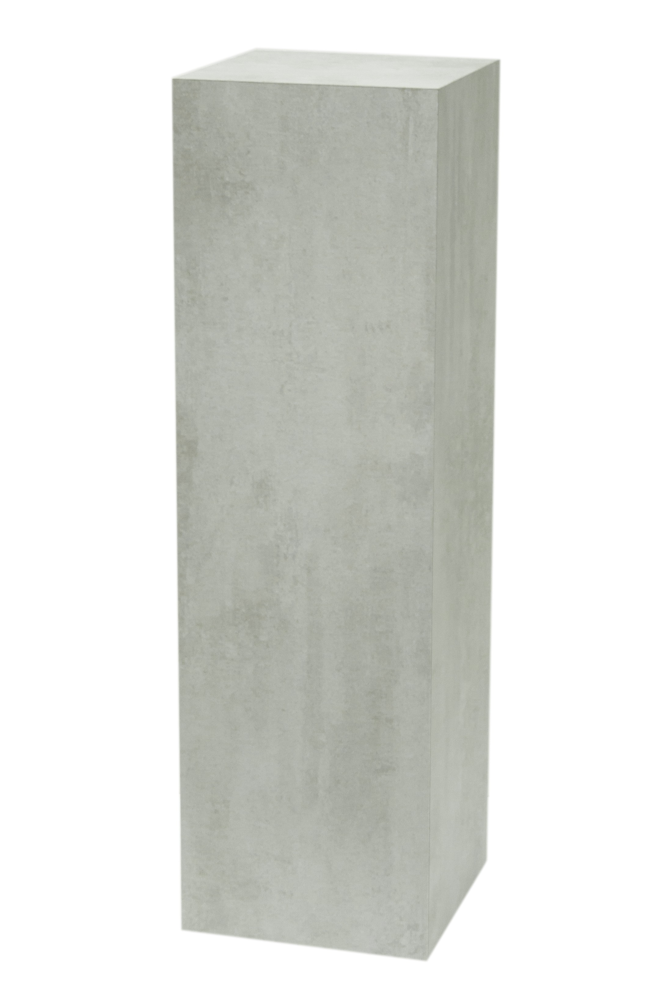 Solits podium i betonglook