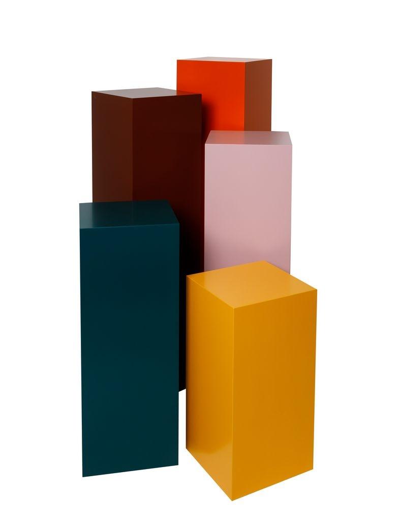 Solits podium färgad